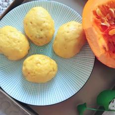 南瓜面豆包的做法