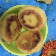 南瓜面豆沙饼