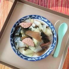 白菜炖海带