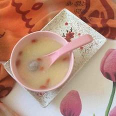 桂圆玉米面粥