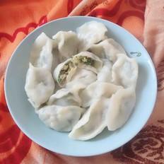 虾皮韭菜水饺