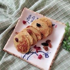 荞麦南瓜奶香饼