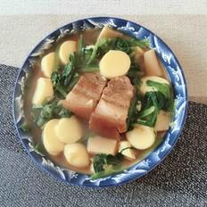 红烧肉烩日本豆腐