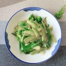 青椒炒西葫芦