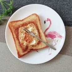 芝士鸡蛋面包片