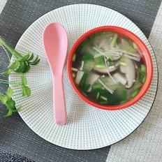 美味双菇汤