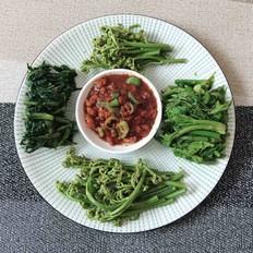 来一盘野菜