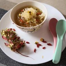 银耳菊花汤