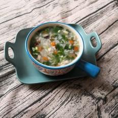 香菇素菜粥