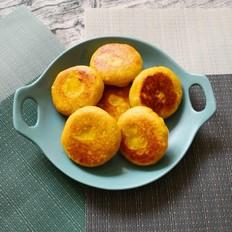 南瓜板栗饼