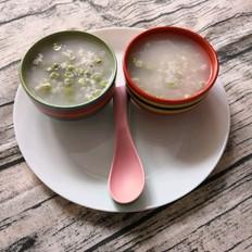 高粱米豌豆粥