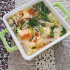 素菜蛋花汤