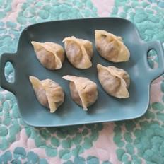 牛肉萝卜虾皮饺子