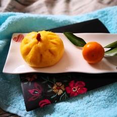 南瓜豌豆黄包子