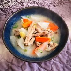 羊骨头胡萝卜汤