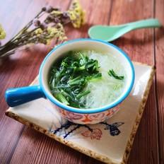 小白菜粉丝汤