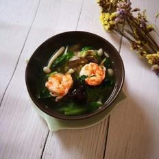 羊脊骨鲜虾汤