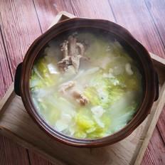 砂锅鸡胸骨炖白菜的做法大全