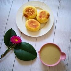 南瓜鸡蛋红糖饼
