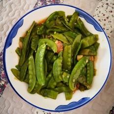 肉片荷兰豆