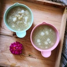 山药绿小米粥