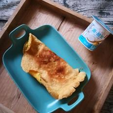 虾皮鸡蛋饼