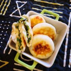 木耳韭菜发面饼