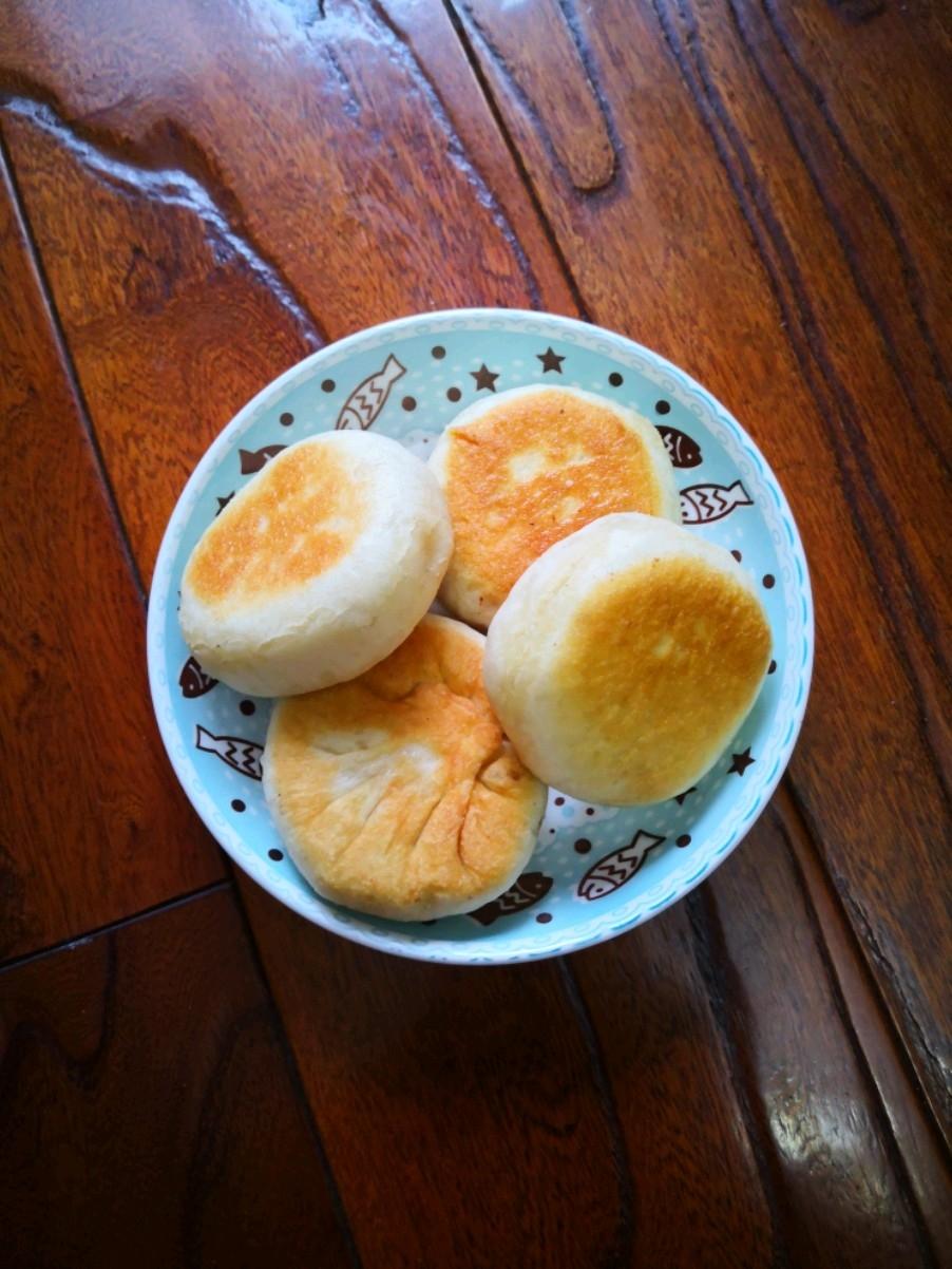 白菜发面饼