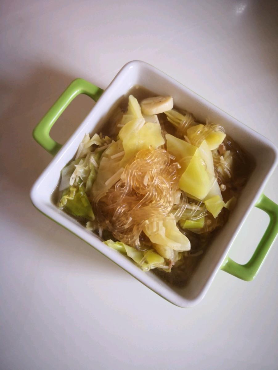 圆白菜炖粉条