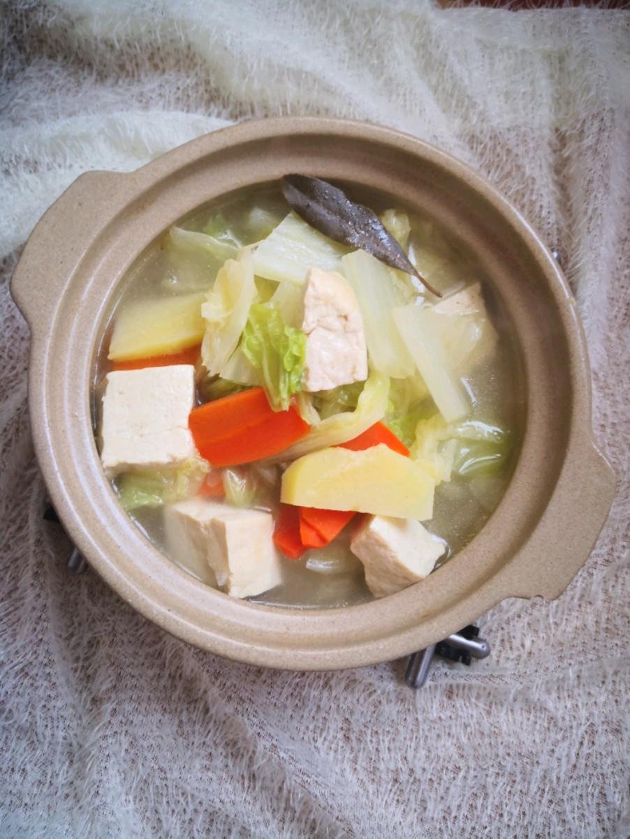 肉汤炖白菜