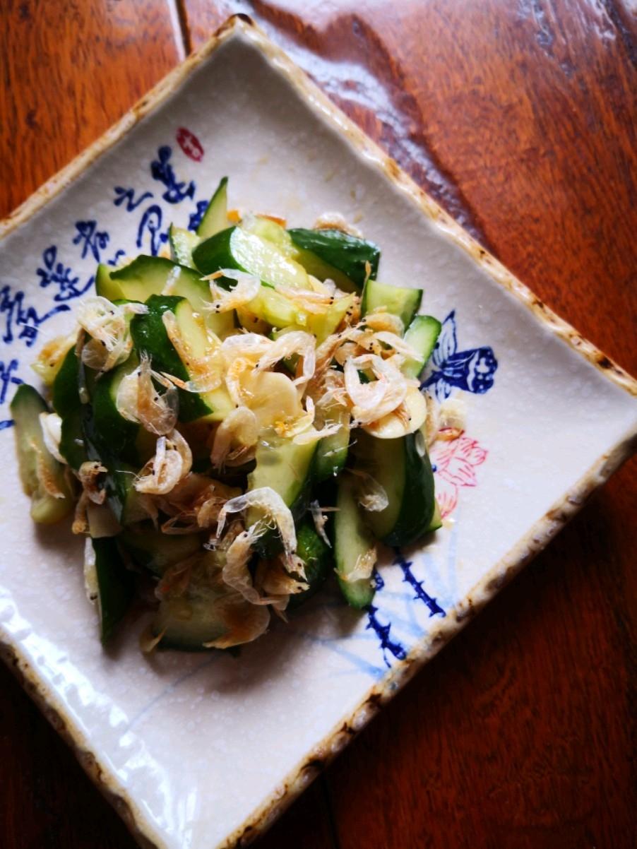 虾皮拍黄瓜