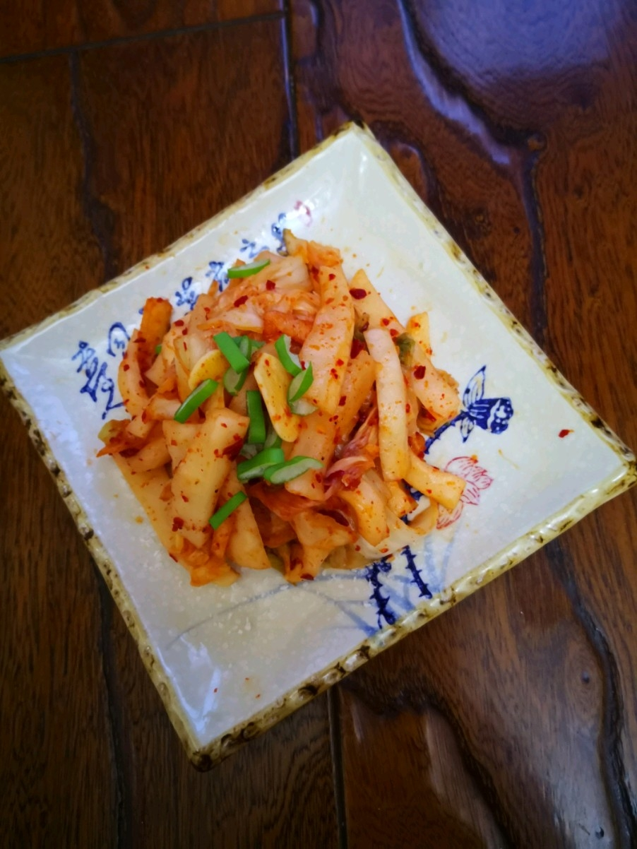 朝鲜辣萝卜条