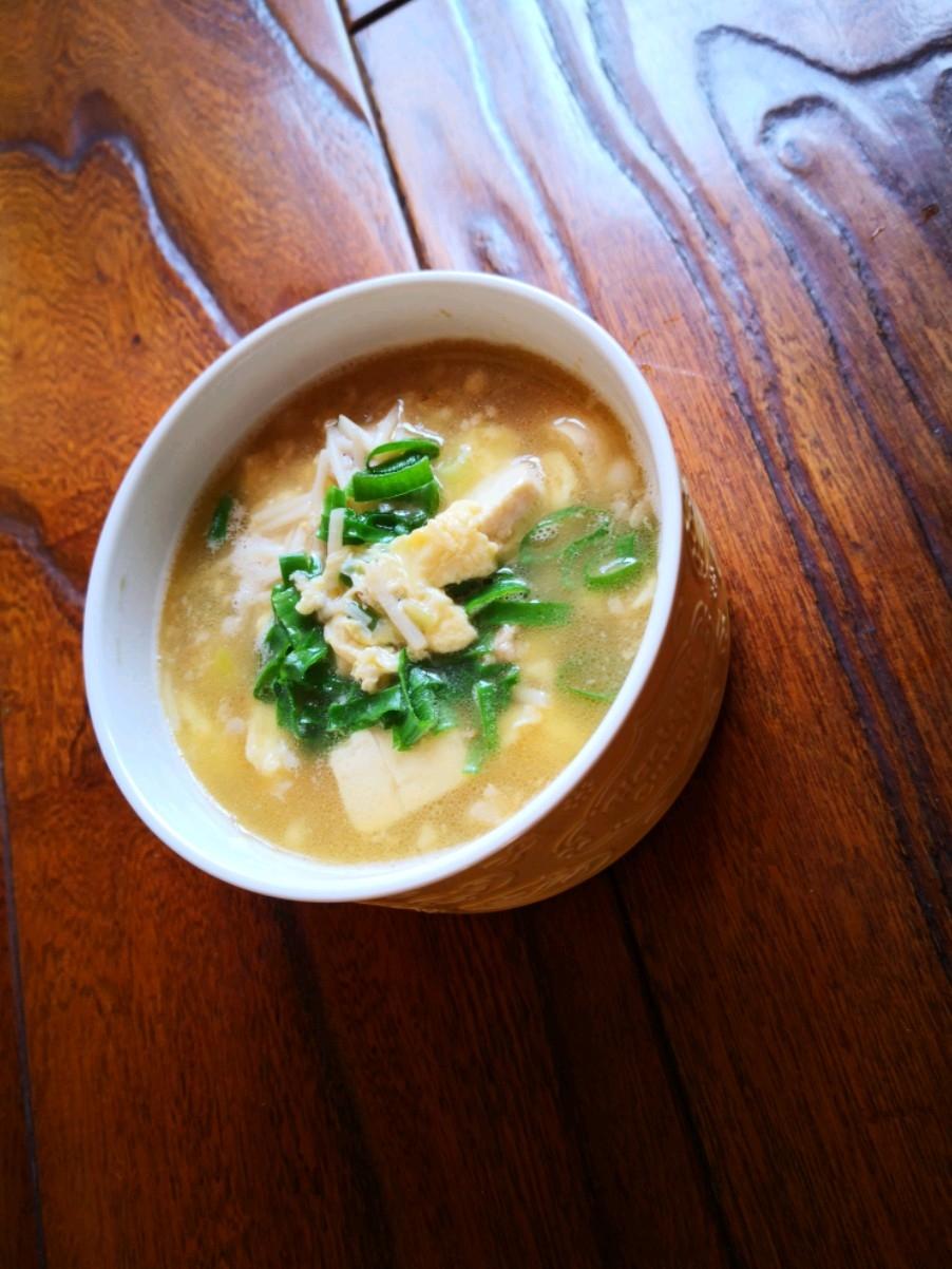 豆腐鸡蛋汤