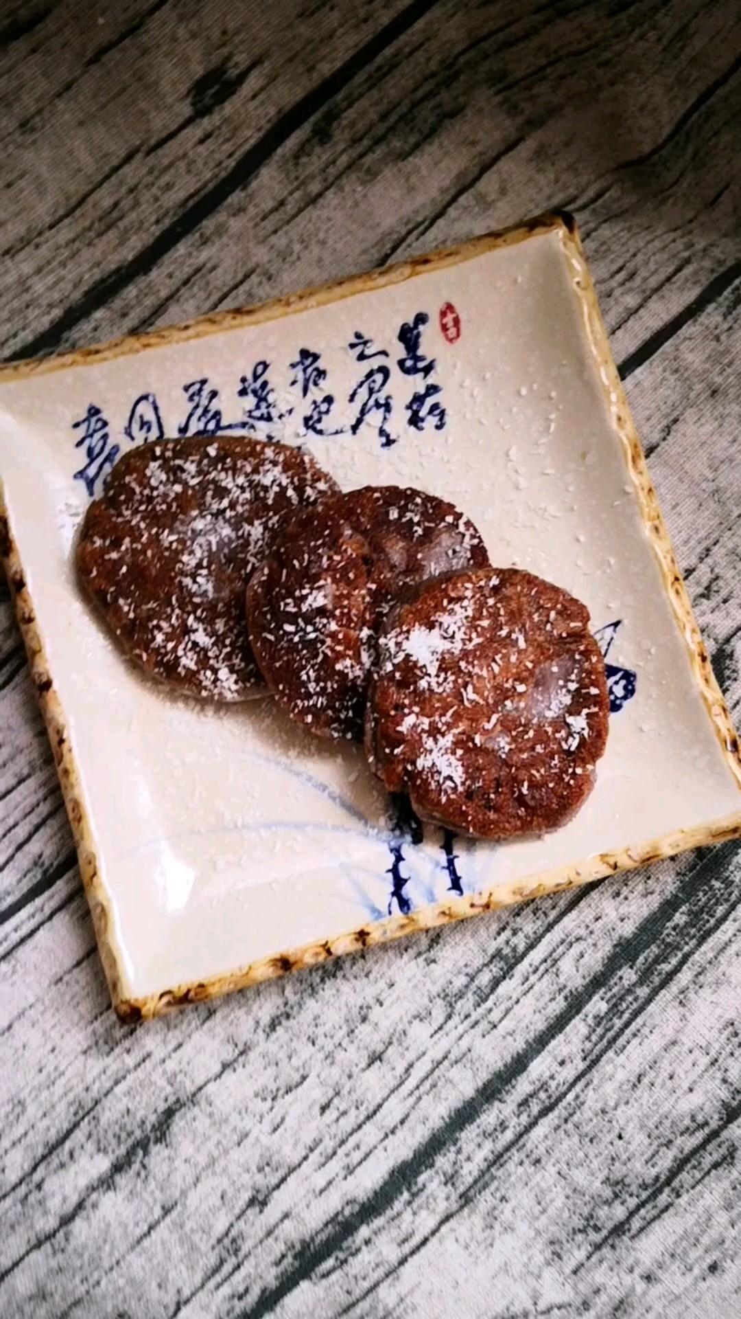 红豆糯米面小饼