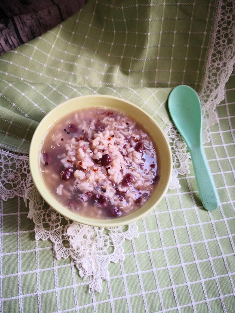 红豆藜麦粥