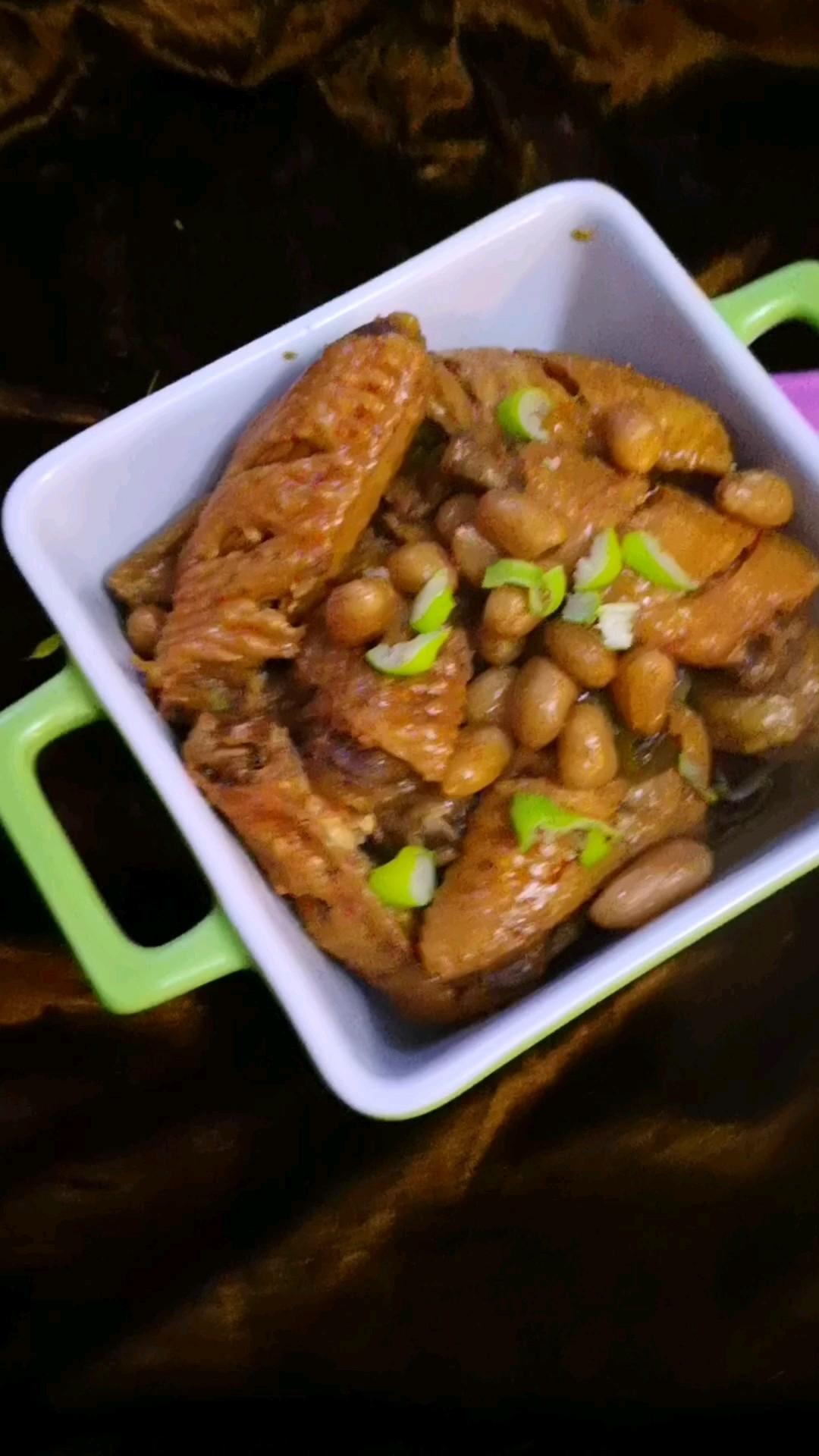 雞翅醬花生米