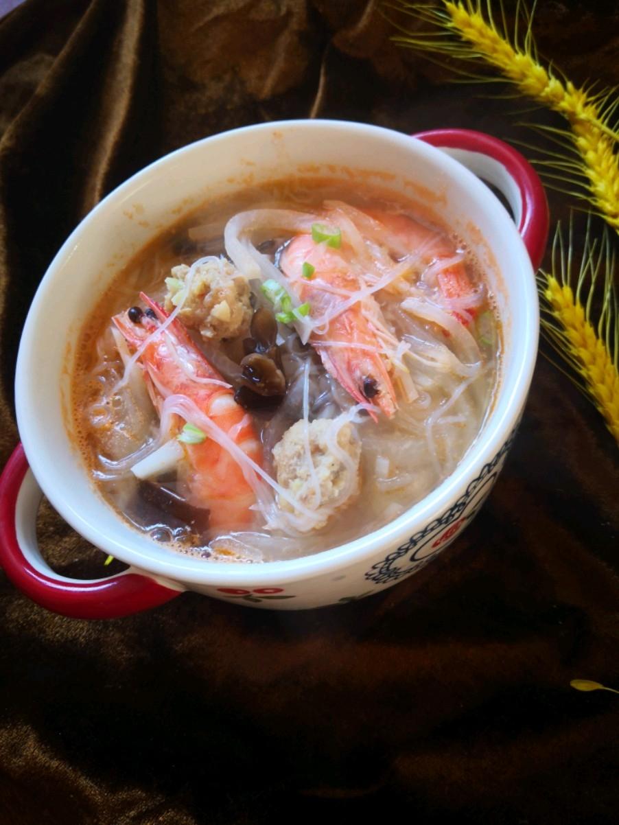 丸子大虾汤