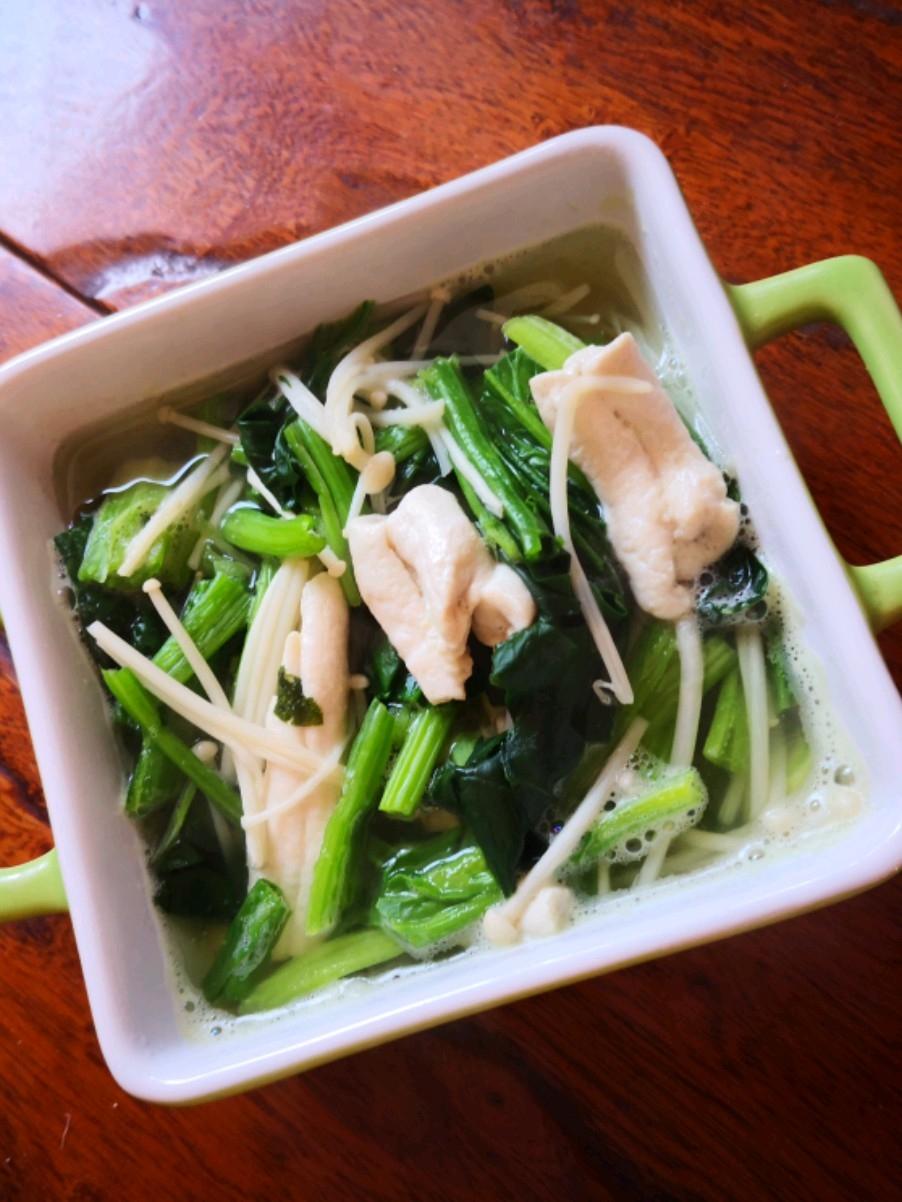 牛骨髓菠菜汤