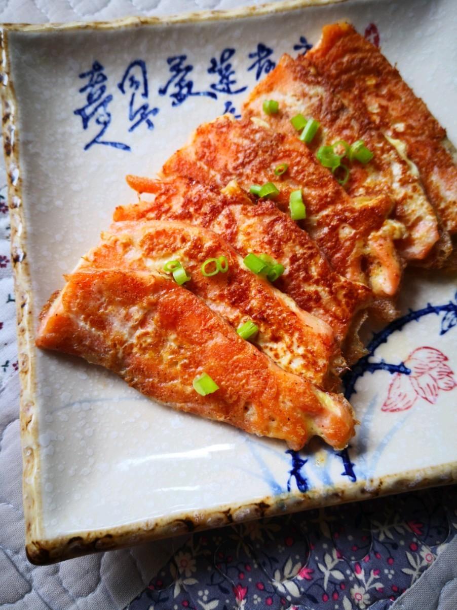 胡椒三文鱼的做法