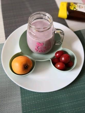 炎炎夏日最爱还是~紫薯奶昔的做法