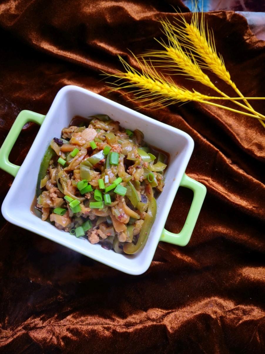 豆豉茄絲的做法