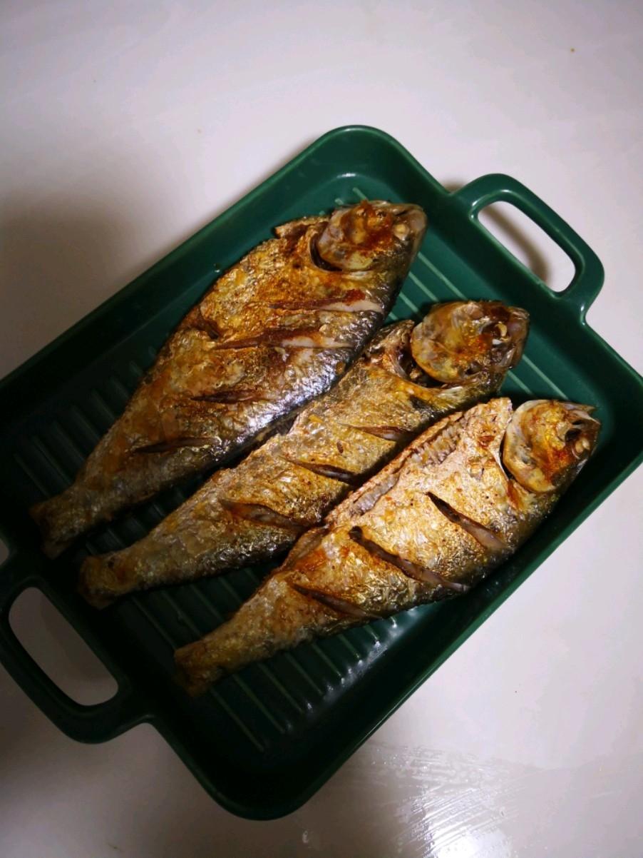 香煎海鲫鱼的做法