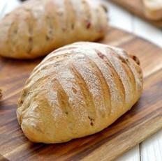 天然酵母黑麦软式欧包