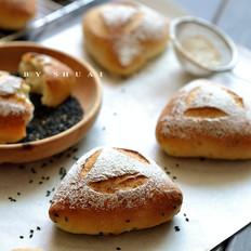 黑芝麻藜麦面包