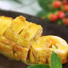 咖喱鸡肉卷