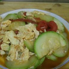 番茄西葫芦炒蛋