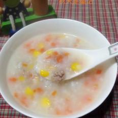 胡萝卜山药玉米肉蓉粥