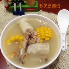 玉米山药鸡骨汤
