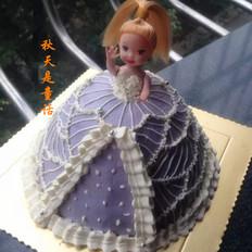 娃娃生日蛋糕
