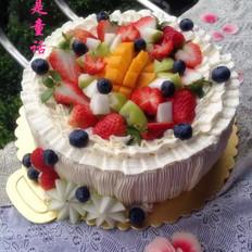 鲜果奶油生日蛋糕